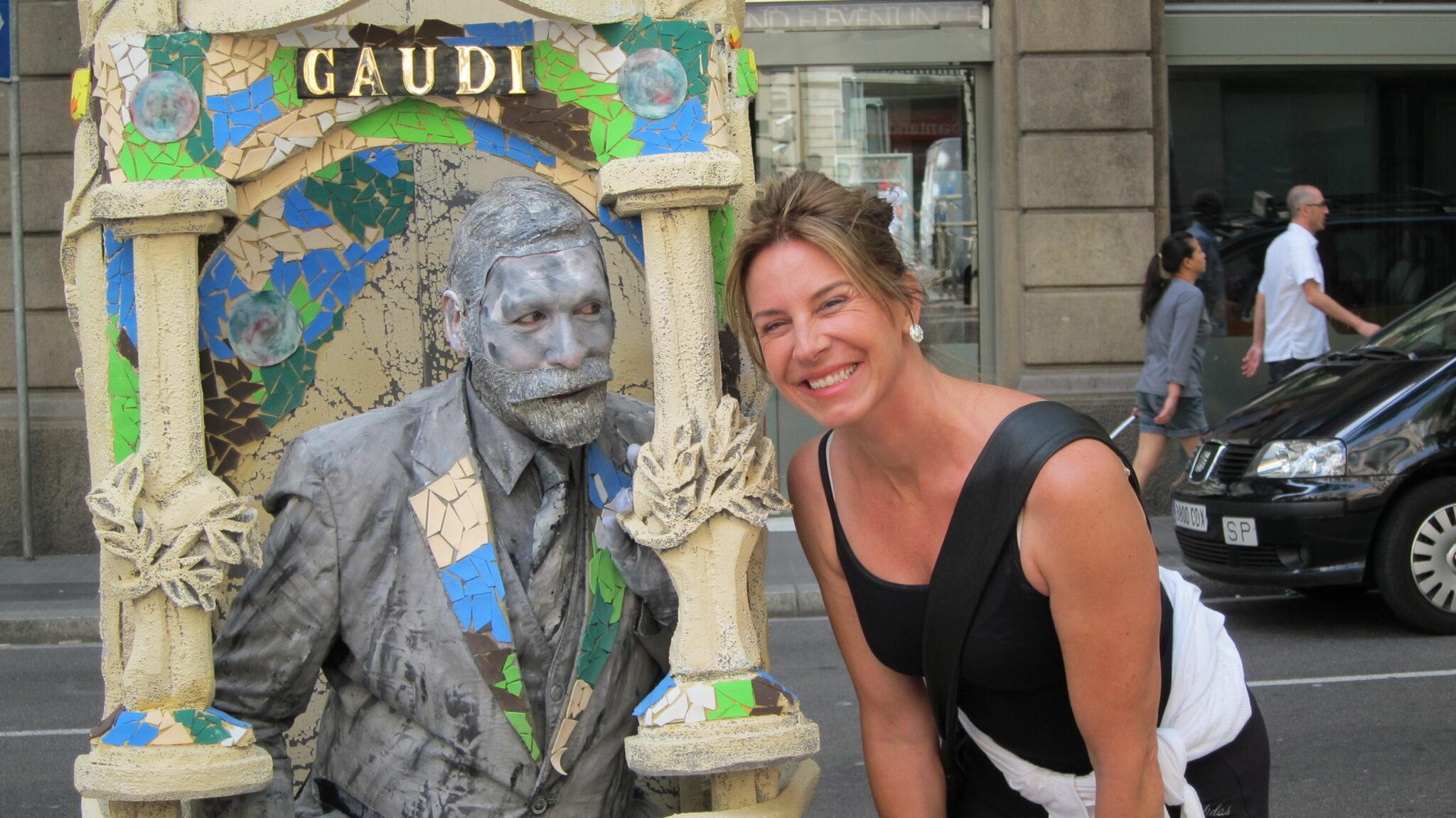 Barcelona, Spain -- Gaudi & I