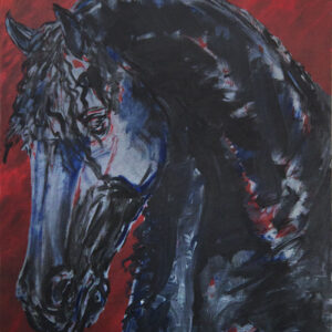 friesian-blackon-red-36x48-canvas